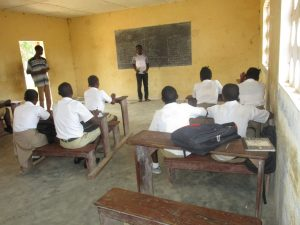 The Water Project:  Students In Class Room