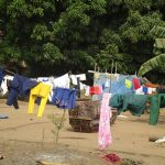 The Water Project: Lungi, 25 Maylie Lane -  Clothes Drying