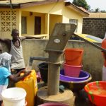 The Water Project: Lungi, 25 Maylie Lane -  Fetching Water
