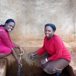 The Water Project: Womulalu Primary School -  Jacqueline And Teacher Kanaga
