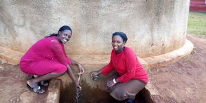The Water Project:  Jacqueline And Teacher Kanaga