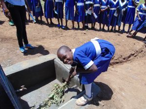 The Water Project:  Learning How To Care For The Water Tank
