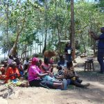 The Water Project: Imbinga Community, Arunga Spring -  Handwashing Training