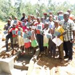 The Water Project: Mukhunya Community, Mwore Spring -  Training Group Picture