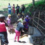 The Water Project: Kambiri Community, Sachita Spring -  Spring Care Training