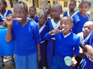 The Water Project:  Dental Hygiene Training