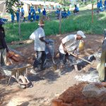 The Water Project: Chebunaywa Secondary School -  Mixing Cement