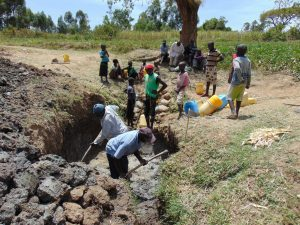 The Water Project:  Excavating The Spring