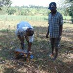 The Water Project: Kambiri Community, Sachita Spring -  Spring Construction