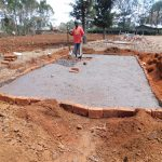 The Water Project: Sango Primary School -  Latrine Construction