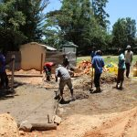 The Water Project: Koitabut Secondary School -  Latrine Construction