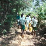 The Water Project: Lwanga Itulubini Primary School -  Path To The Spring