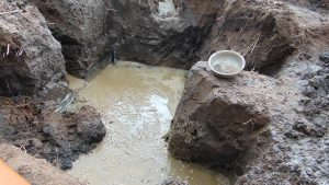The Water Project:  Excavated For The Foundation