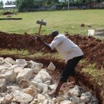 The Water Project: Green Mount Primary School -  Foundation Construction