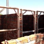 The Water Project: Chebunaywa Secondary School -  Latrine Construction