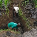 The Water Project: Bukhakunga Community, Mukomari Spring -  Excavation