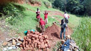 The Water Project:  Delivering Bricks To The Construction Site