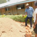 The Water Project: Ichinga Primary School -  Testing For Sand Quality