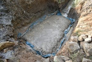 The Water Project:  The Foundation Slab