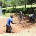 The Water Project: Koitabut Secondary School -  Tank Foundation Excavation