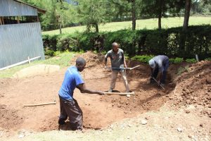 The Water Project:  Tank Foundation Excavation