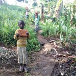 The Water Project: Bukhakunga Community, Mukomari Spring -  Carrying Bricks To The Site