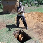 The Water Project: Imbinga Community, Arunga Spring -  Digging Latrine