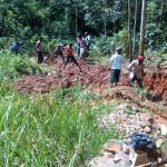 The Water Project: Mukhunya Community, Mwore Spring -  Excavation