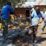 The Water Project: Kapkemich Primary School -  Mixing Cement
