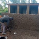 The Water Project: Ingwe Primary School -  Latrine Construction