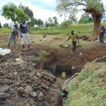 The Water Project: Sambuli Community, Nechesa Spring -  Backfilling