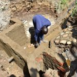 The Water Project: Emukoyani Community, Ombalasi Spring -  Spring Construction