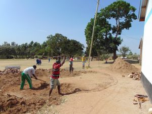 The Water Project:  Excavating For The Foundation