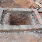 The Water Project: Ibinzo Community, Lucia Spring -  Pit Prepared For New Latrine