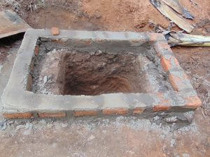The Water Project:  Pit Prepared For New Latrine