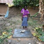The Water Project: Emukoyani Community, Ombalasi Spring -  Finished Sanitation Platform
