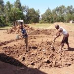 The Water Project: Musango Primary School -  Excavating The Site