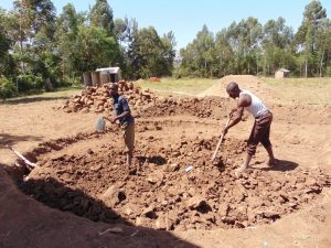 The Water Project:  Excavating The Site