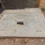 The Water Project: Mukoko Community, Mshimuli Spring -  Finished Sanitation Platform
