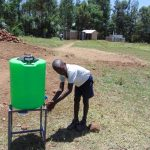 The Water Project: Musango Primary School -  Handwashing Station