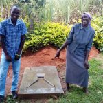 The Water Project: Bukhakunga Community, Mukomari Spring -  Sanitation Platform