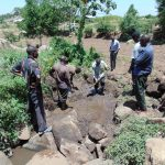 The Water Project: Imbinga Community, Arunga Spring -  Excavation