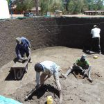 The Water Project: Lwakhupa Primary School -  Tank Construction