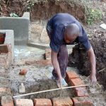 The Water Project: Kambiri Community, Sachita Spring -  Measuring Stairs