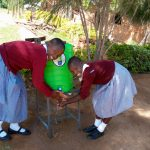 The Water Project: Kapkemich Primary School -  New Handwashing Station