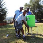 The Water Project: Koitabut Secondary School -  Handwashing Station
