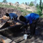 The Water Project: Imbinga Community, Arunga Spring -  Spring Construction