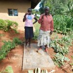The Water Project: Mukhunya Community, Mwore Spring -  Sanitation Platform