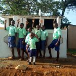 The Water Project: Ingwe Primary School -  Finished Latrines