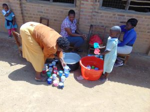 The Water Project:  Serving Porridge